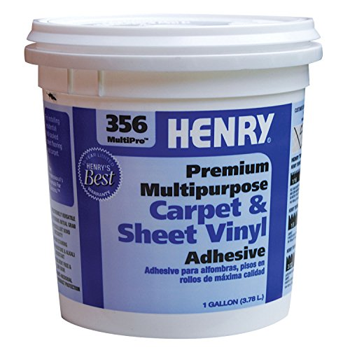 Henry 356C MultiPro Premiuim Multipurpose Carpet & Sheet Vinyl Adhesive (1 Gallon) (Adhesive Flooring Sheet)