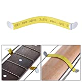 luthier tool kit - Pack of 2pcs Guitar String Separator Luthier Frets Polish Strings Metal Separate Tool for Classic Acoustic Guitars Bass Ukulele Repair