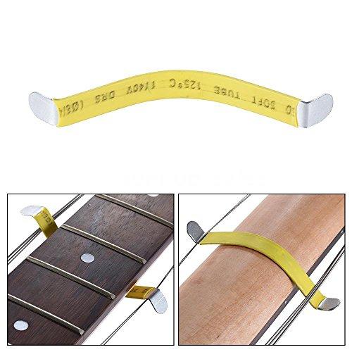 Pack of 2pcs Guitar String Separator Luthier Frets Polish Strings Metal Separate Tool for Classic Acoustic Guitars Bass Ukulele Repair
