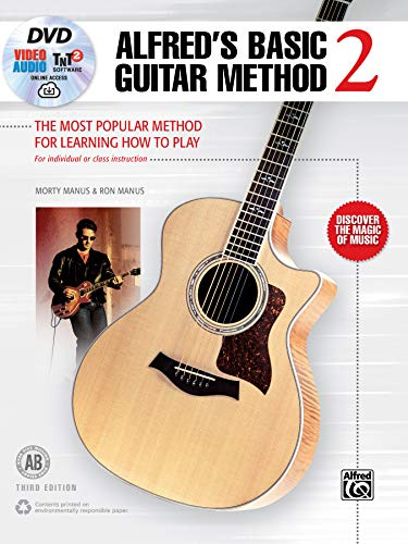 Alfred's Basic Guitar Method, Bk 2: The Most Popular Method for Learning How to Play, Book, DVD & Online Video/Audio/Software (Alfred's Basic Guitar Library)