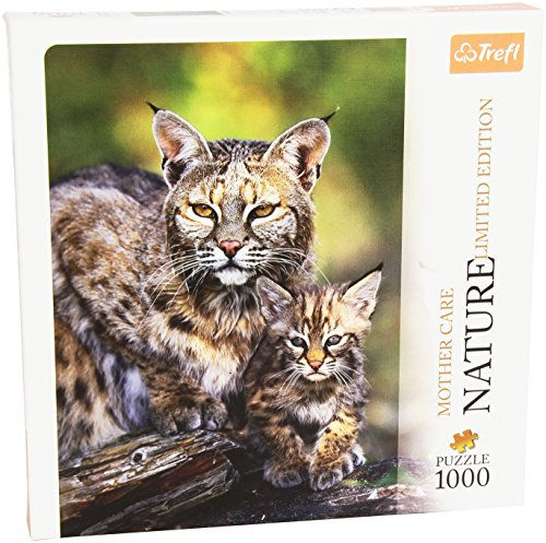Bobcat, USA - Nature, Limited Edition, Mothercare 1000 Pieces Jigsaw - Puzzle by Trefl