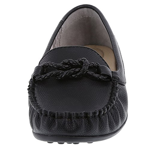 Dexflex Comfort Womens Chrissy Driving Moc Black