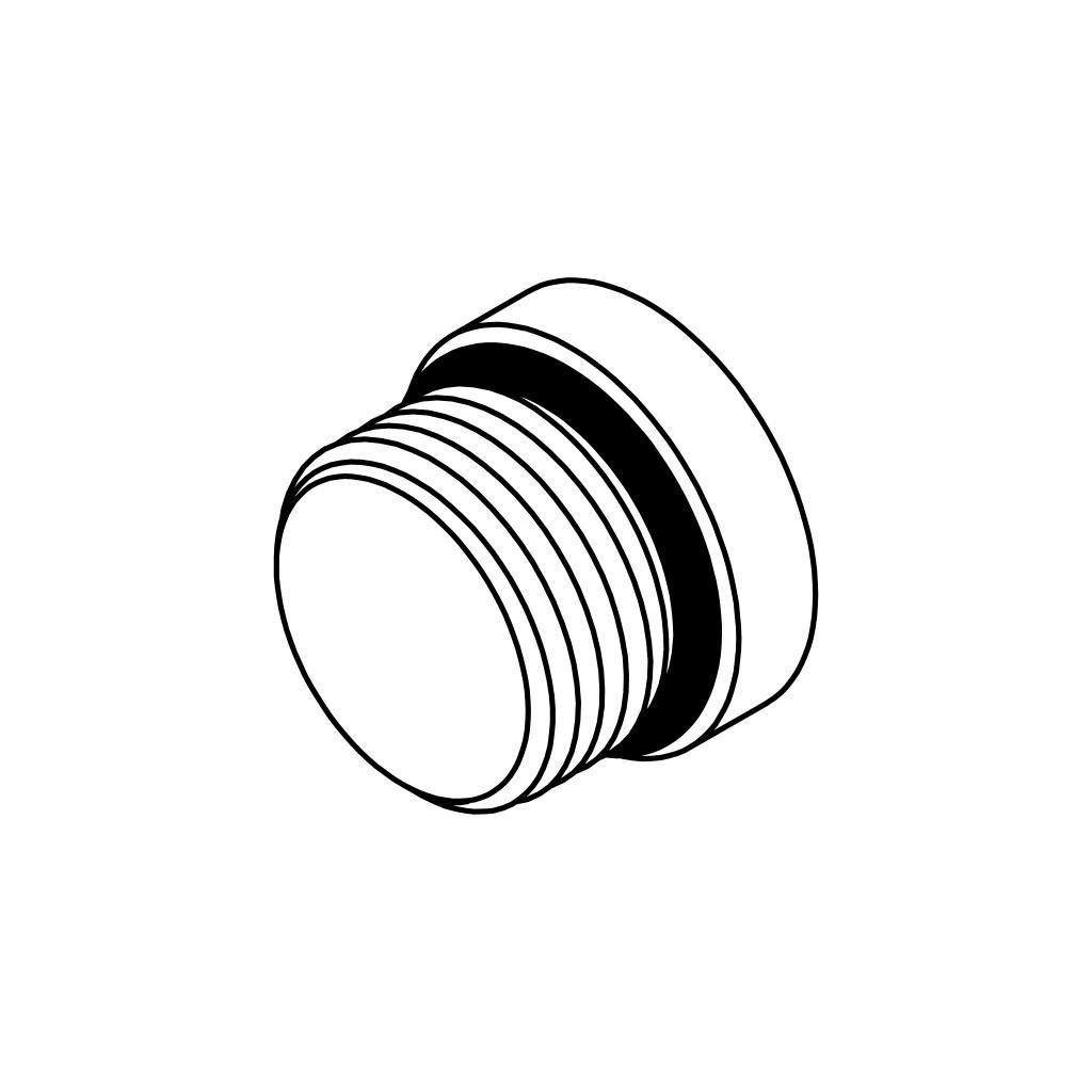 Zinc Plated Steel Dixon 1255-12H Hex Head SAE O-Ring Boss Thread Plug 1.06 1-1//16-12 1.06 1-1//16-12