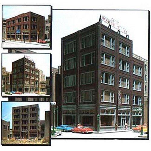 Dpm Ho Scale Building - DESIGN PRESERVATION MODELS HO KIT DPM 20th Century Storefront Building