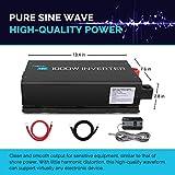 Renogy 1000W 12VDC to 120VAC Pure Sine Wave