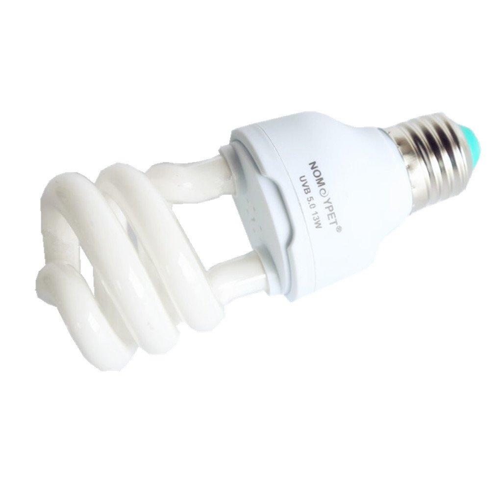 Generic 10.0 / 5.0 Luz Ultravioleta UVB Tortuga Reptil Lagarto Bombilla Lámpara Iluminación Compacta Globo E27