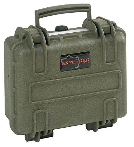 Explorer Cases 2712 G Waterproof Dustproof Multi-Purpose Protective Case with Foam, Military Green by Explorer Cases