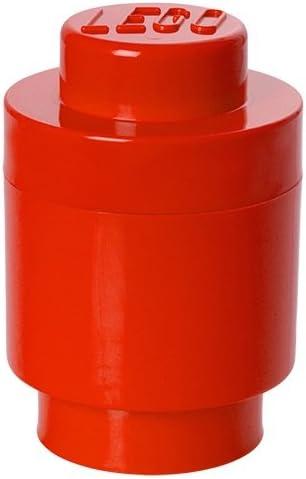LEGO Round Storage Box 1, Red