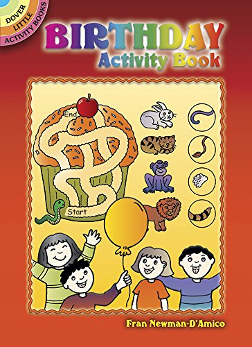 Birthday Activity Book (Dover Little Activity Books)