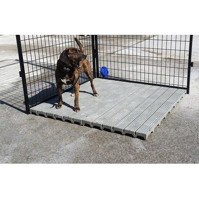 Section Yard Kennel Raised Flooring System (Deck Kennel)