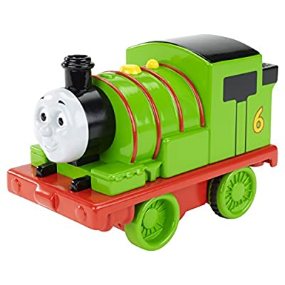Fisher-Price Thomas & Friends Pull 'n Spin Percy: Toys & Games