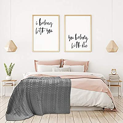 Cable Knit Blanket Queen.Amazon Com Briarwood Home 100 Soft Premium Acrylic