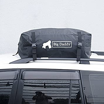 Car Roof Bag Cargo V2 By Big Daddy 400 LITRES OF EXTRA SPACE FOR