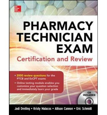 Pharmacy Technician Exam Certification And Review (Int'l Ed)