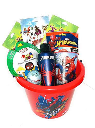SpiderMan Easter Birthday Deluxe Basket Premade Theme Gifts