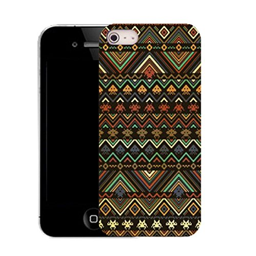 Mobile Case Mate IPhone 5S clip on Silicone Coque couverture case cover Pare-chocs + STYLET - archaic pattern (SILICON)