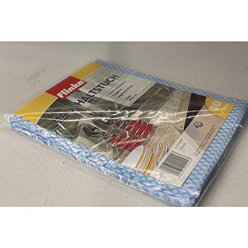 Flinka Haushaltstuch Tücher 38 x 50 cm blau (10 Stck. Packung)