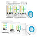 Cheers (Formerly Thrive+) After Alcohol Aid & ORS Combo | for Fast Alcohol Detox & Rehydration Recovery After Drinking Alcohol. Replenish with Our Electrolyte Formula … (Triple)