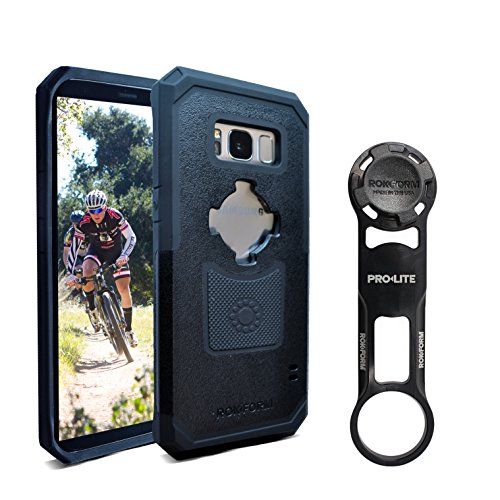 Cheap Rokform [Galaxy S8] PRO-LITE Aluminum Bike Mount / Holder & Protective Phone Case, Twist Lock & Magnetic Security
