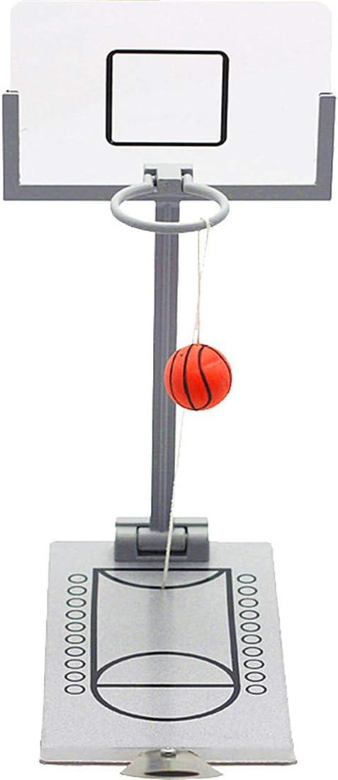 Zgifts Mini Mesa de Baloncesto Juego de Metal eyección portátil de ...