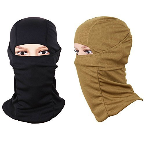 Face Mask Sports Balaclava (2 Pack), Black and Desert Color: Black + Desert Model: FA10005 Car/Vehicle Accessories/Parts