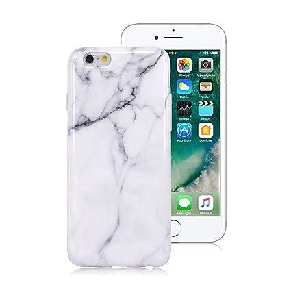 XTCASE Funda iPhone 6/6s Mármol, Ultrafina Suave TPU ...