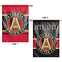fan products of Atlanta United WC Premium 2-sided 28x40 Banner Flag MLS FC Soccer Football Club