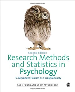 Book Research Methods and Statistics in Psychology (SAGE Foundations of Psychology series)