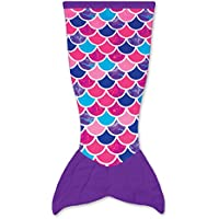 Mermaid Tail Blanket for Kids by Fin Fun Cuddle Tails...