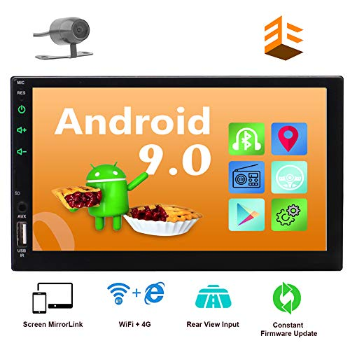 EINCAR Android 9.0 2 Din Car Stereo with GPS Navigation in Dash Head Unit Bluetooth 4.0 7