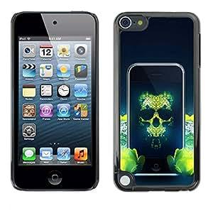 Paccase / SLIM PC / Aliminium Casa Carcasa Funda Case Cover para - Pirate Phone - Apple iPod Touch 5