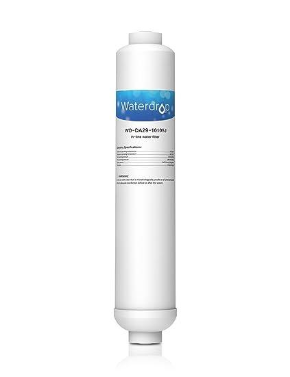 WaterDrop DA29-10105J Filtro de Agua del refrigerador (Externo, en línea) para