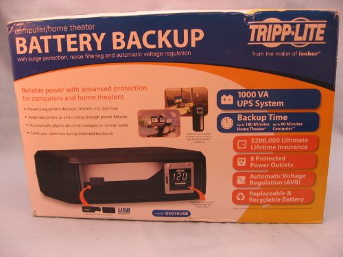 TRIPPLITE Computer Home Theater Battery Backup LCD Screen Di