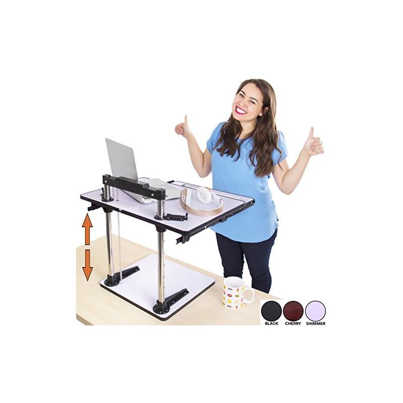 The UpTrak Metro Standing Desk & Bonus K