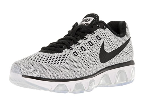 Nike Womens Air Max Tailwind 8 Running Shoe (9.5 B(M) US, White/Black)