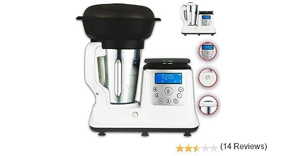 10 en 1 térmica Multi eléctrica Robot de cocina con función de cocción/Temperatura 1350 W, 1.7 L Cocinar, Barajar, Robot de cocina al vapor, multifunción, zerkleiner, & Mix de eléctrica de cocción