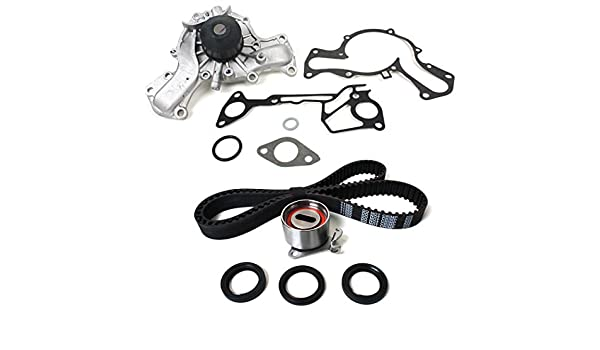 Amazon.com: CNS TCK139WP (149 teeth) New Timing Belt Water Pump Kit compatible with 87-00 Chrysler Dodge Hyundai Mitsubishi Plymouth 3.0L (2972cc) SOHC V6 ...