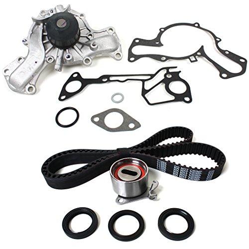 eth) New Timing Belt Water Pump Kit (w/ Cam and Crankshaft Front Oil Seals) for 87-00 Chrysler Dodge Hyundai Mitsubishi Plymouth 3.0L (2972cc) SOHC V6 (12 Valve) Engine Code