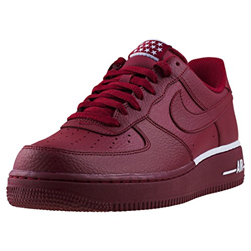 Force Red Team Scarpe '07 da Fitness White NIKE 1 Uomo Air Hw17fFqA