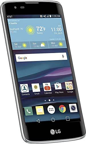 LG Phoenix 2 K371 Mobile 4g LTE GSM, 5-Inch HD, 16GB, 8MP LED Flash + 5MP, Android 6.0 Locked AT&T Prepaid, U.S. Warranty