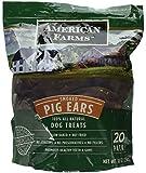 AMERICAN FARMS Smoked Pig Ears Bag, 30 oz.