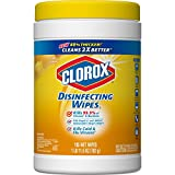Clorox Disinfecting Wipes, Crisp Lemon - 4 Pack - 105 Each