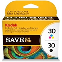 Kodak 30B/30C Combo Ink Cartridge - Black/Color - 1 Year Limited Warranty