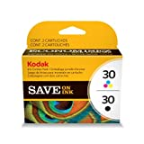 Kodak 30B/30C Combo Ink Cartridge – Black/Color – 1 Year Limited Warranty