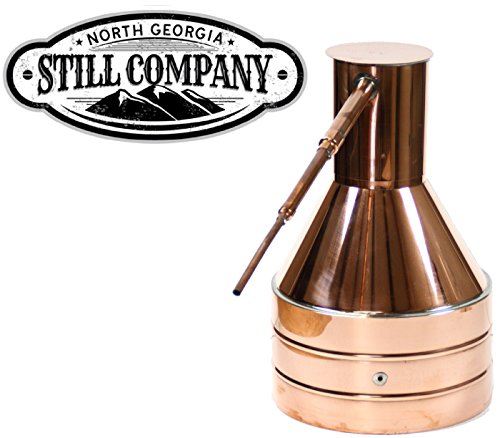 North Georgia Still Company 2.5 Gallon Copper Moonshine Still by North Georgia Still Company price tips cheap