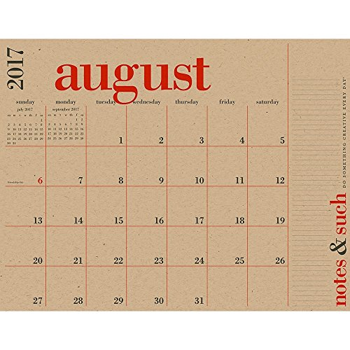 2018 Great Big Poster Calendar