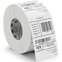 Zebra 98963 Paper Label Z-Select 4000T 4 x 8, 3 Core, 690 Labels per Roll (Pack of 4 Rolls)