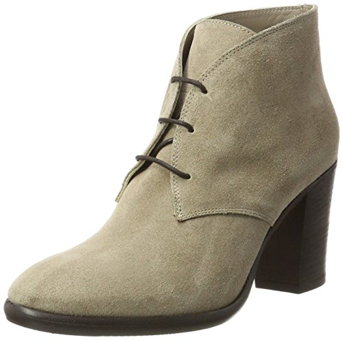 Bretonnière Femme Ankle Fred Mit Taupe Blockabsatz De Schnürung La Bottines Beige Boot 3029 RWxnAx4O