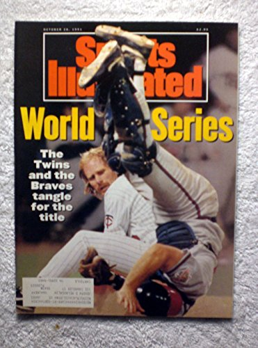 Atlanta Braves World Series (1991 World Series - Minnesota Twins vs Atlanta Braves - Dan Gladden & Greg Olson - Sports Illustrated - October 28, 1991 - SI-2)