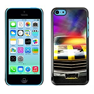 Print Motif Coque de protection Case Cover // V00002591 Coches de carreras // Apple iPhone 5C